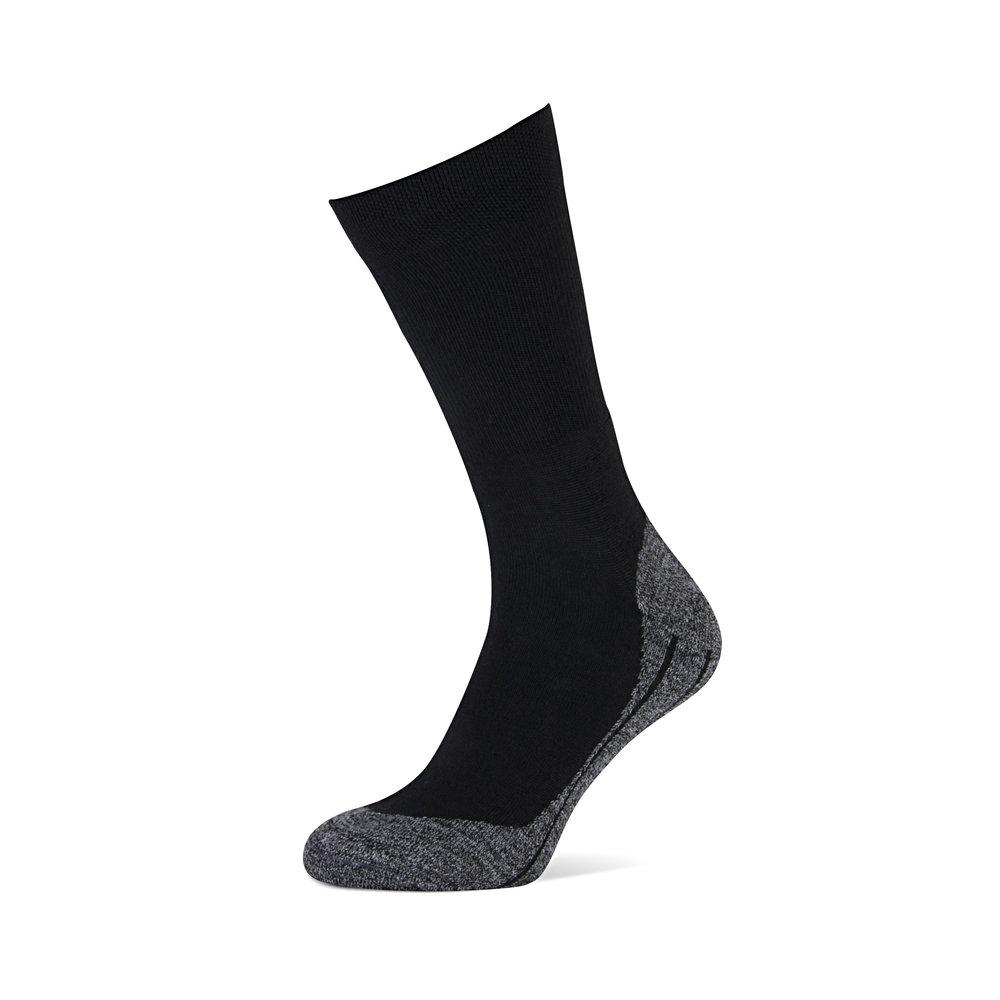 Walking   • Antipress boord • Badstof beschermt de hiel • Anatomisch voetbed • Comfortabele niet-voelbare teennaad • Badstof beschermt de tenen •  Met wol •  Beschikbaar in 2 kleuren
