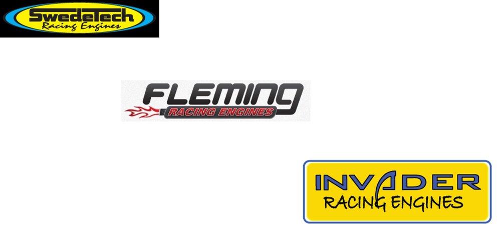 Motor builders/Vendors - Swedetech: Swedetechracing.com info@swedetechracing.com|916.687.3980 -Honda, Iame, Rotax enginesFleming Racing Engines: flemingmotorsports.com Dougflemingmotorsports@gmail.com|818.891.5159 -Small engine rebuilding, blueprinting, restorationInvader Racing Engines: calkart@gmail.com|775.313.3712 -LO206 vendor, builder