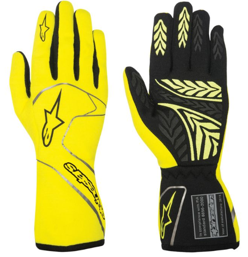Gloves - Any gloves can be used. Hands must be covered on the race track!Racing gloves can provide grip and are typically designed for comfort when the fingers are close together and gripping something.Vendors include K1, Sparco, Alpine Star, Minus 273, Zamp, Torq-Racewear. etc