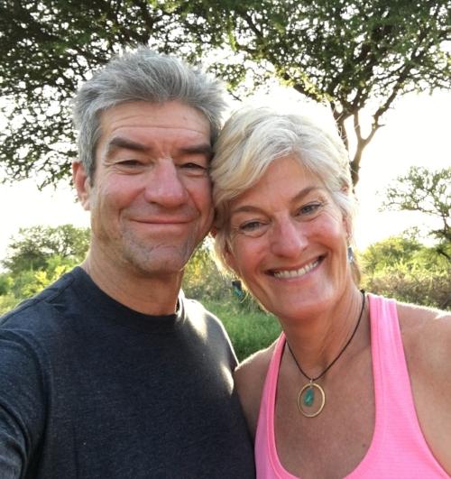 Susanne & Brett in Tanzania 2017