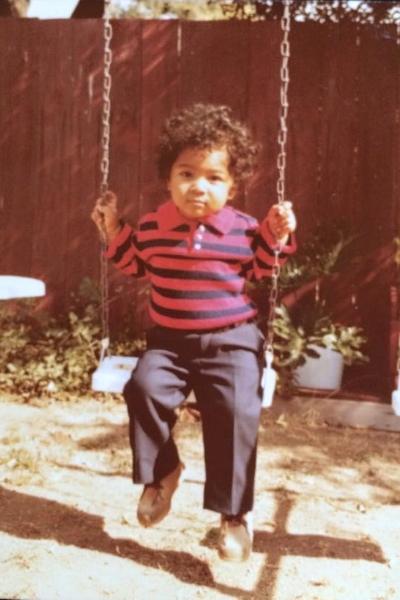 Circa 1981. Inglewood, California.