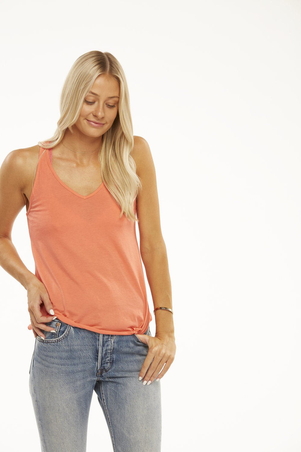 105MSF Friday Racerback Tank in Dubarry.jpg