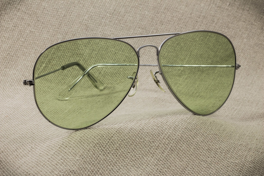 ad64f6ca8 Ray Ban Metal Changeable Green lens [58mm] — Bantheray