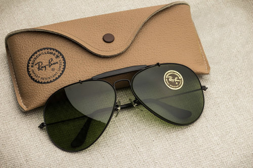 2358512343 Ray Ban Outdoorsman RB Green lens  62mm