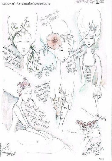 The Hat Magazine Isla Campbell Millinery Feltmakers Award 2011