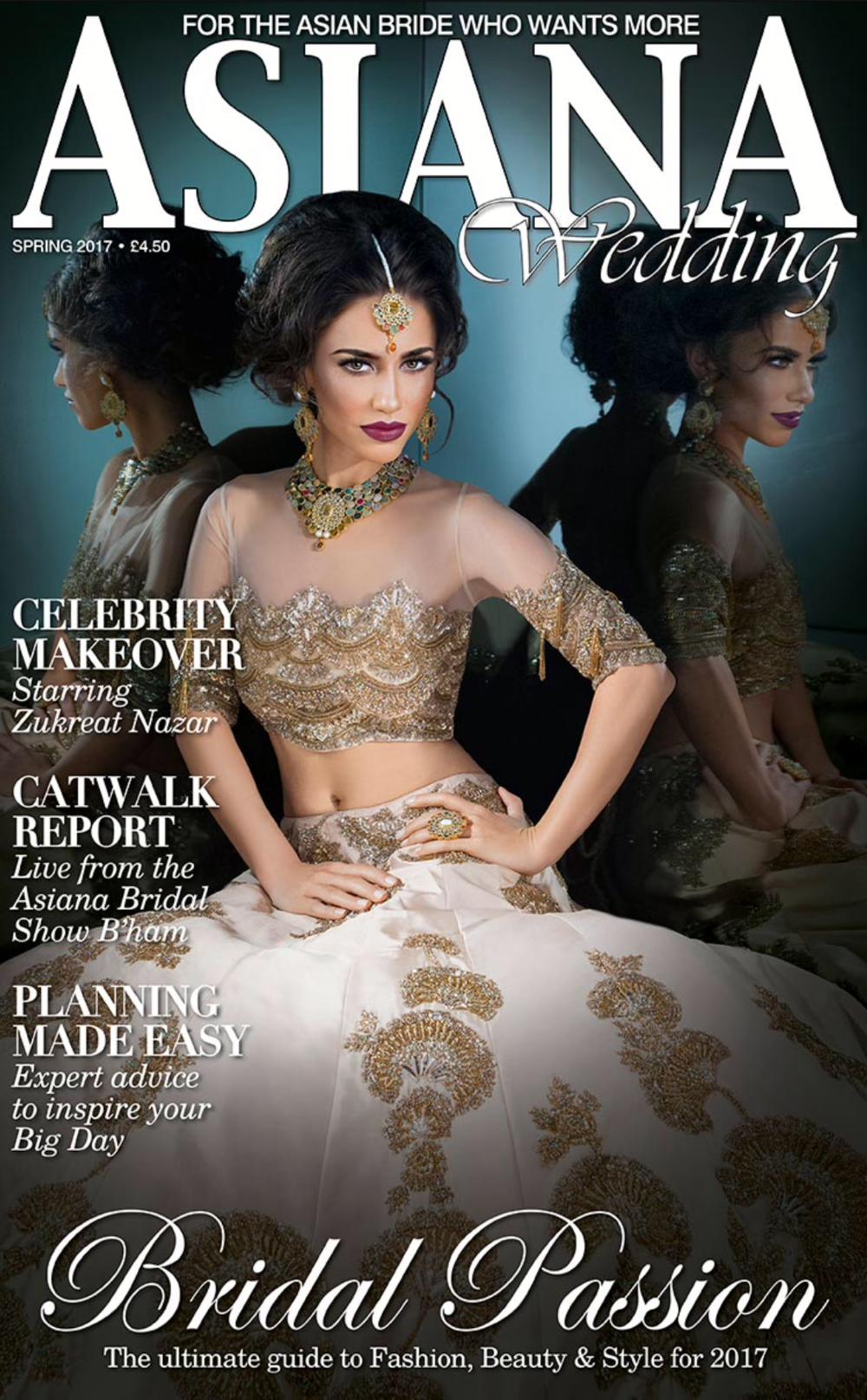 Asiana Magazine cover