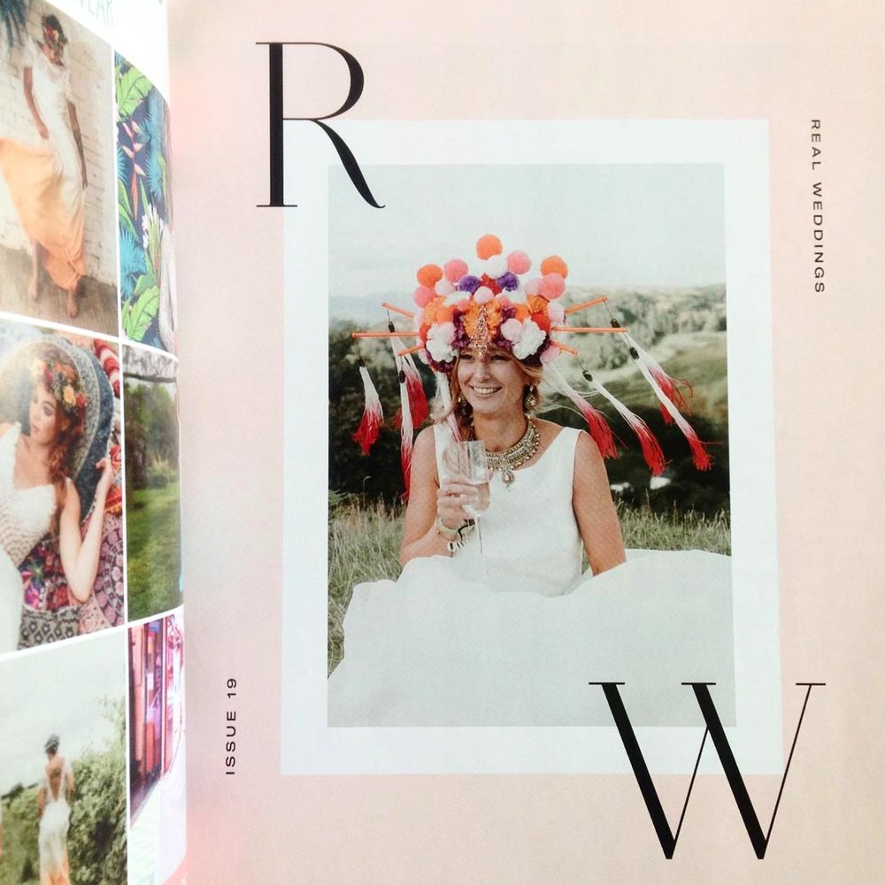 Rock N Roll Bride Magazine Isla Campbell Millinery Jess Rose Llinos Glyn