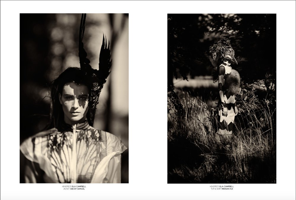 Nocturnal Animals Drama Mag Magazine Isla Campbell Millinery Fabrice Jacobs Magda Jacobs Minnan Hui Abijoy Samuel