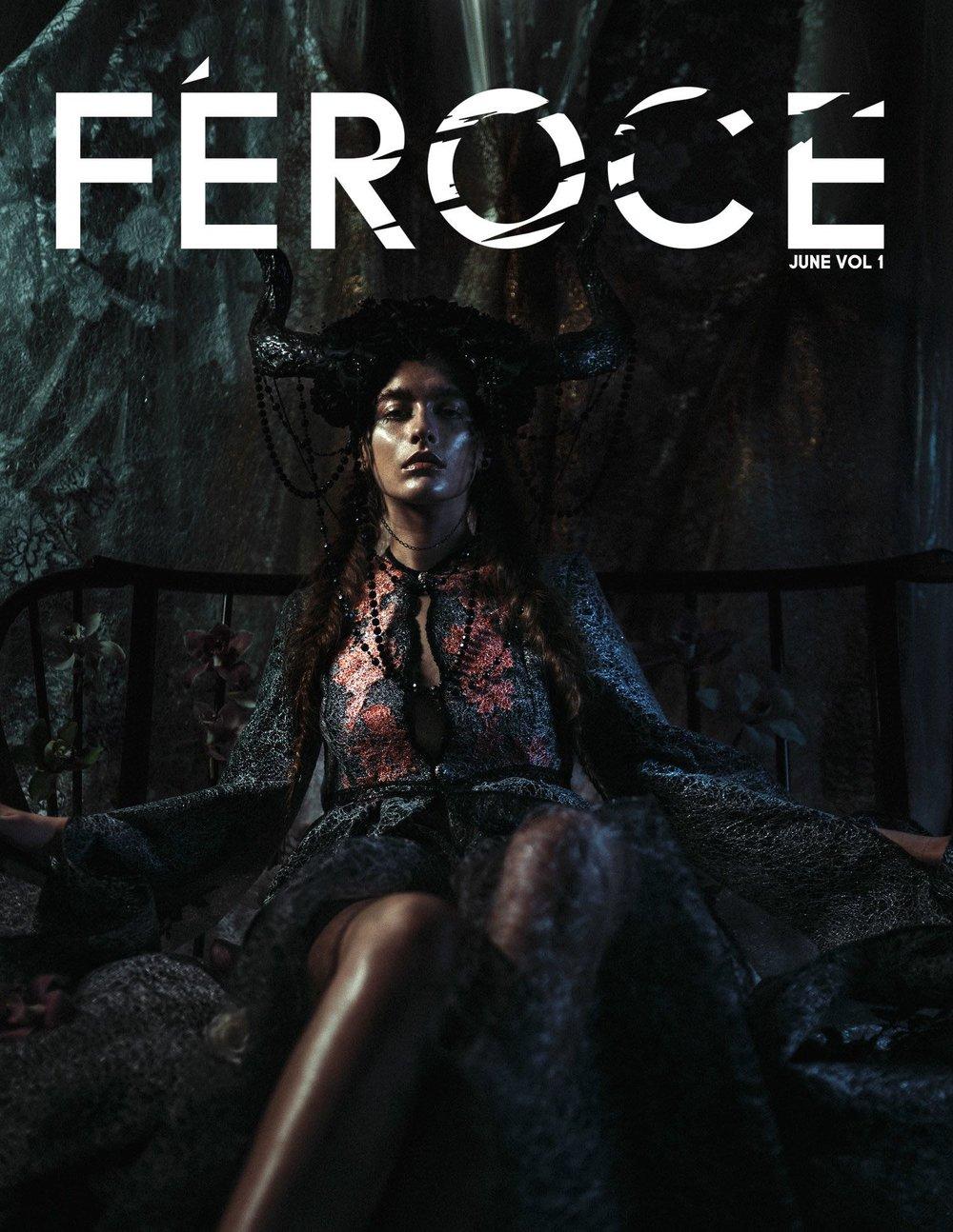 Feroce Mag Magazine Isla Campbell Millinery Vaseghia Alisa Vaseghi Maya Mihoc, Amber Upton, Mattia Holm