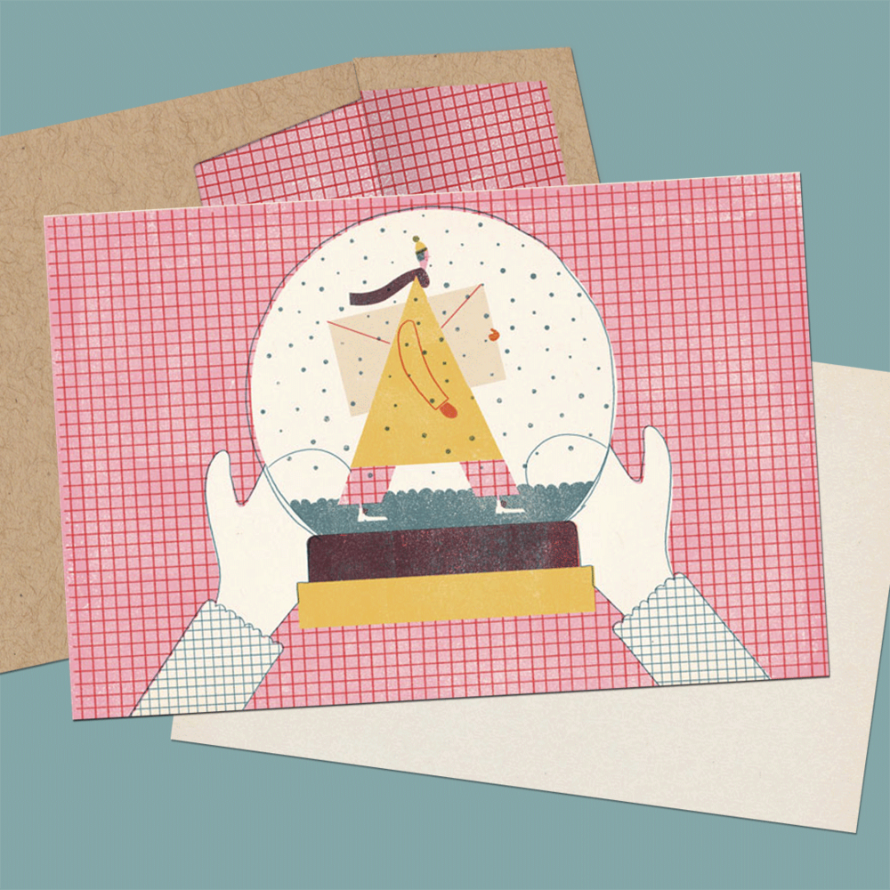 Send this card  to friends or family this holiday season, exclusively on Tendr!