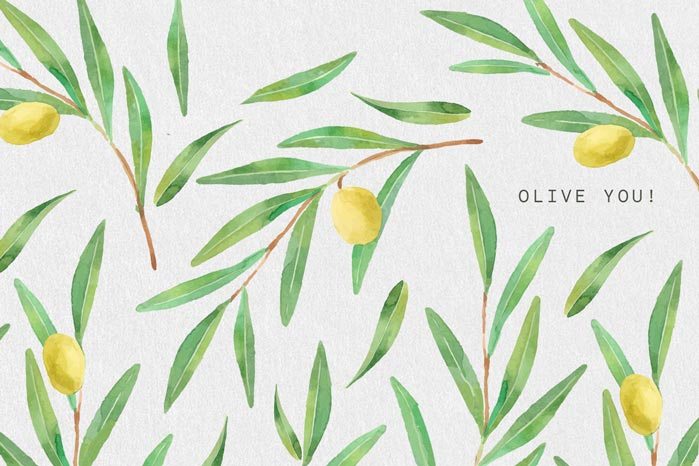 Olive You  by Appy Couple