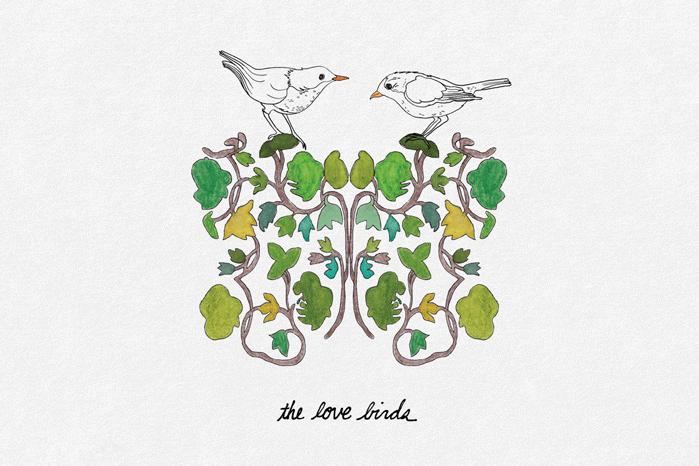 The Love Birds by Screech Owl Design