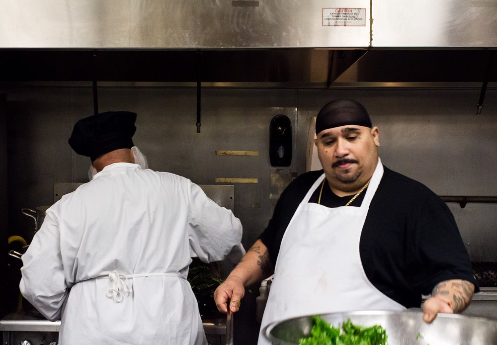 The Culinary Arts program at Fortune is one of many hands-on employment services they offer. Image c/o The Fortune Society.