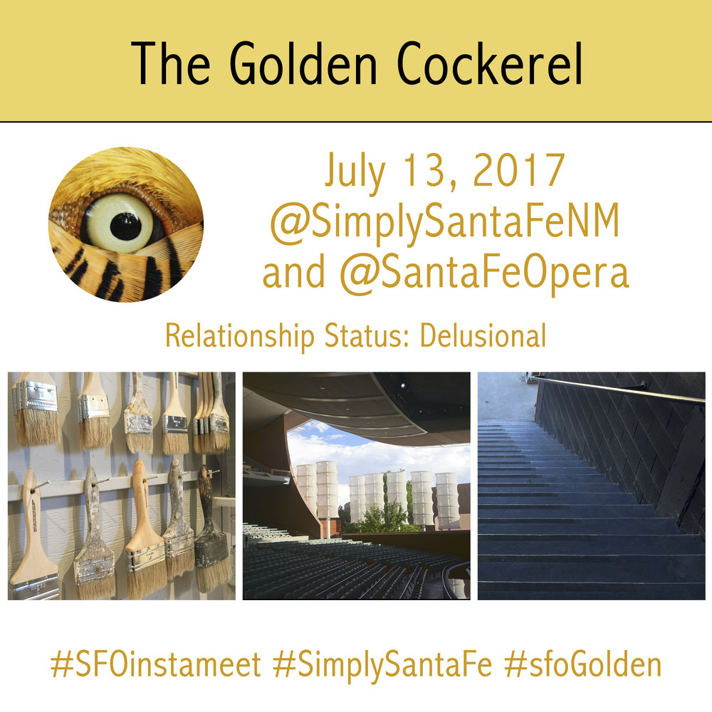 Golden Cockerel InstaMeet at the Santa Fe Opera