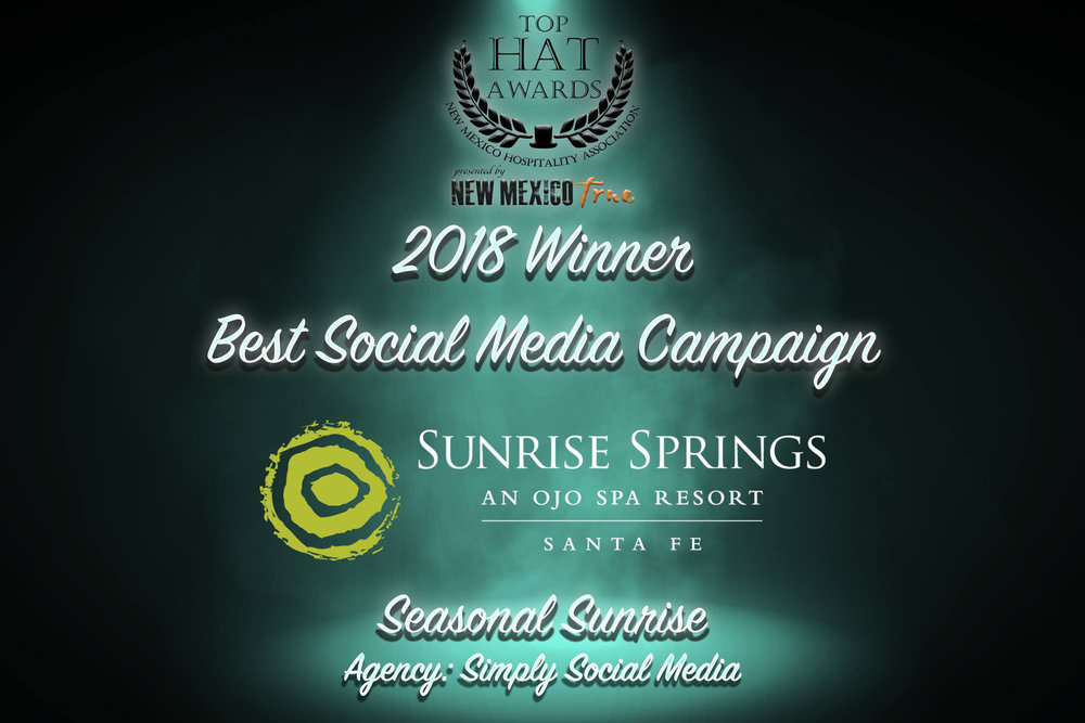 2018 Top Hat Awards Best Social Media Campaign Simply Social Media Santa Fe.jpg