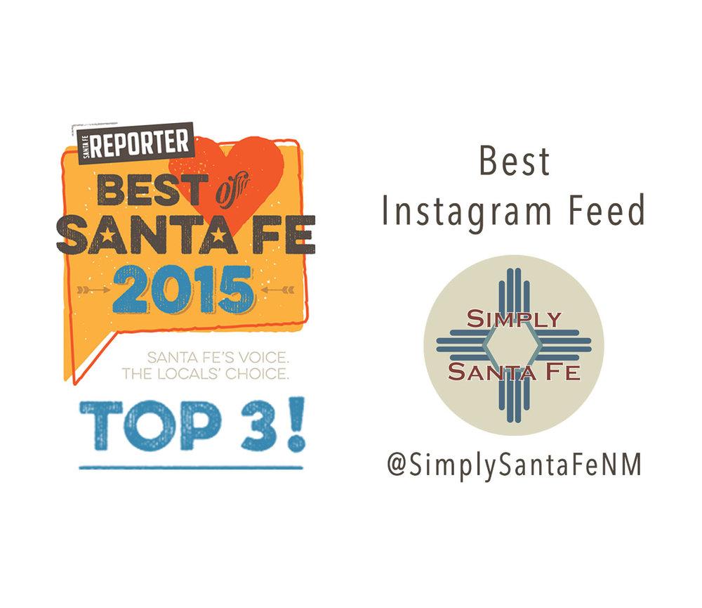 SimplySantaFeNM Best of Santa Fe Award 2015.jpg