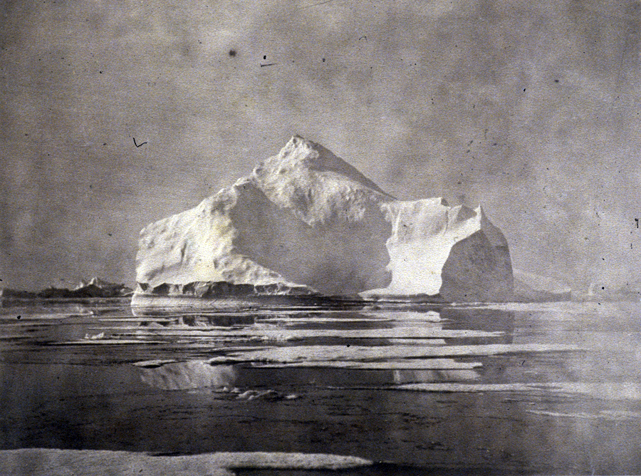 "William Bradford, ""Instantaneous View of Icebergs on our way north"" from The Clark Institute's Flickr page"