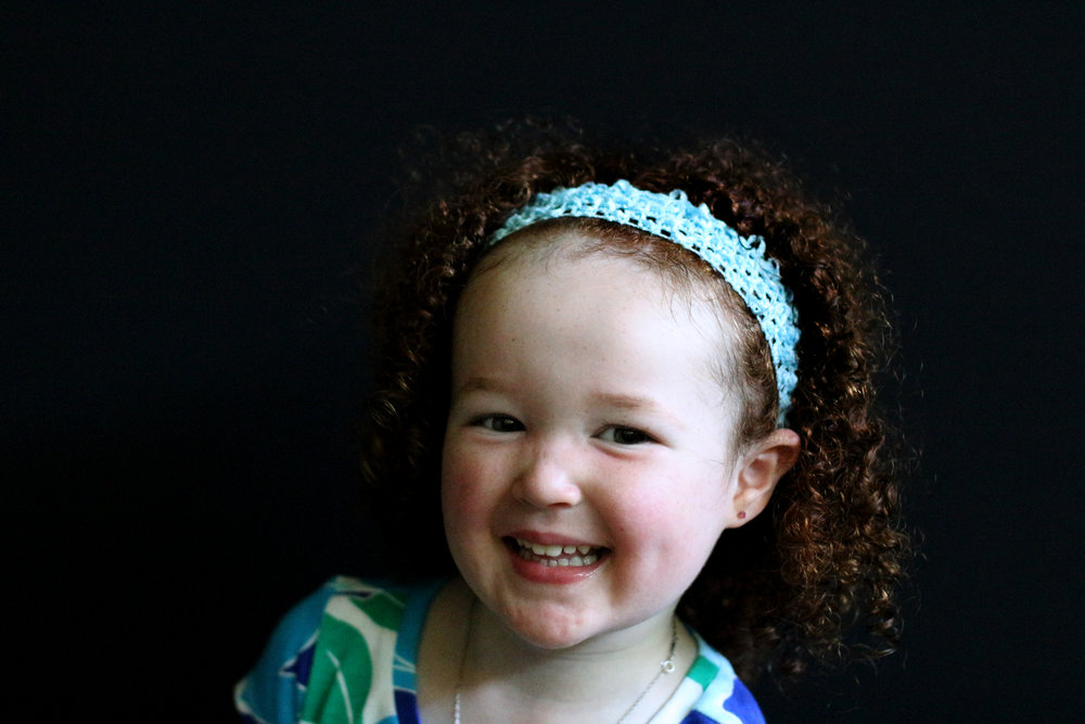 red hair preschool smiling fine art portrait seattle Heather Barradas photographer