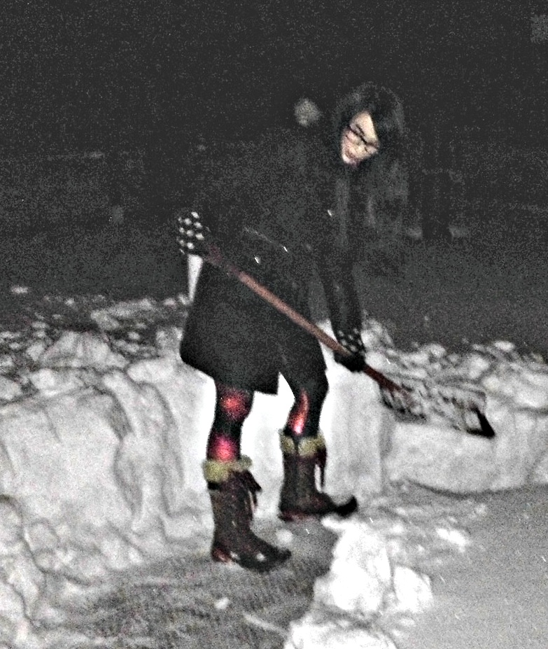 A wild Observatory Coordinator appeared. She used Snow Shovelling. It's super effective!