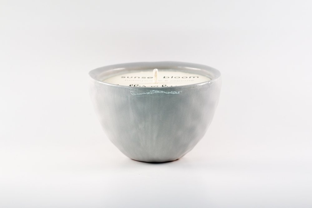 Small Bowl _ Gray Glossy _ Side View _ Ceramic _ Tea & Tobacco _ Soy Candle _ SH _ Cropped.jpg
