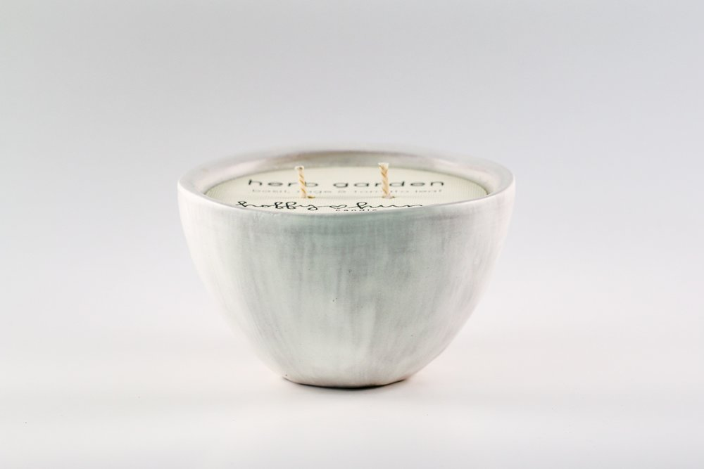 Small Bowl _ White Matte _ Side View _ Ceramic _ Soy Candle _ SH _ Cropped.jpg