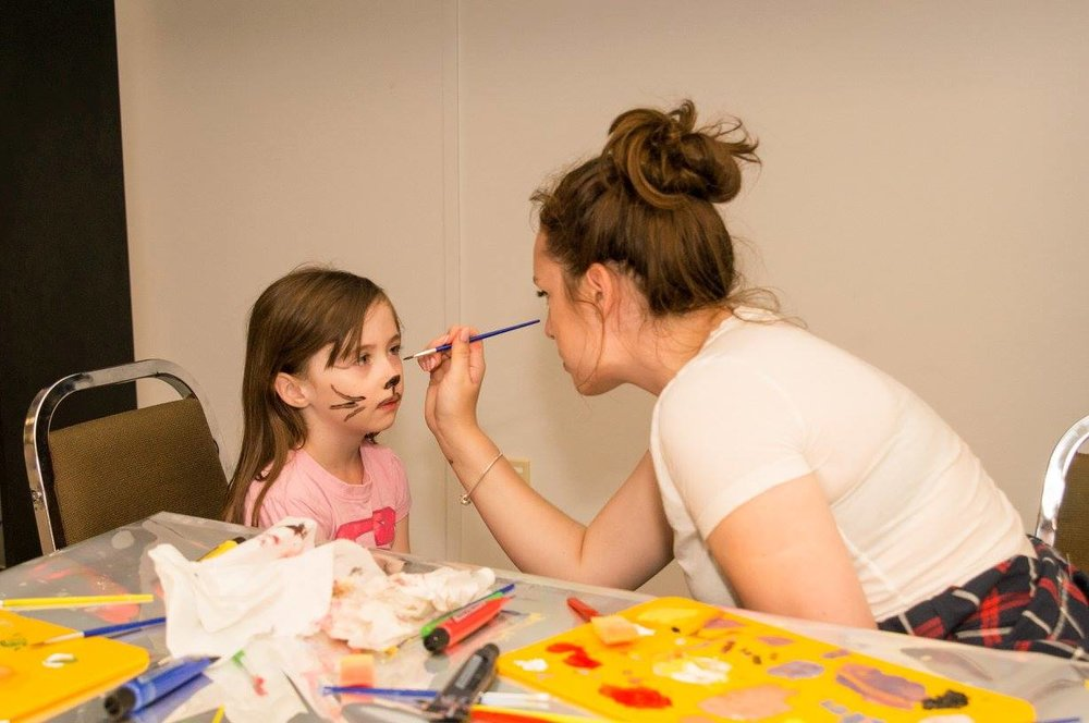 Family Fun Day - face painting