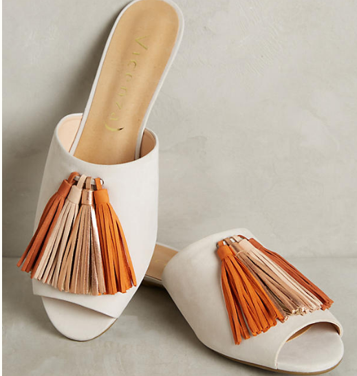 Anthropologie Vicenza Mules