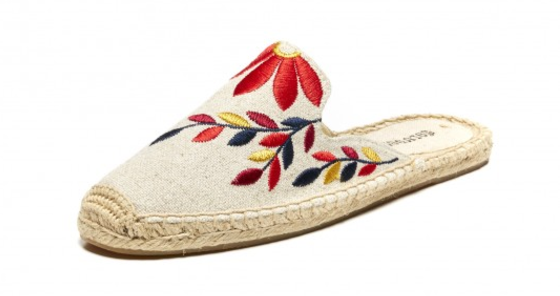 Soludos Embroidered Mule