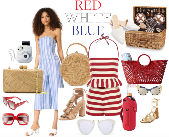 Styling Ideas for July 4th Fashion