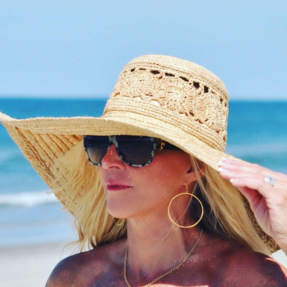 The best beach hat to keep the sun off your face is from Brooklyn Hat Company!