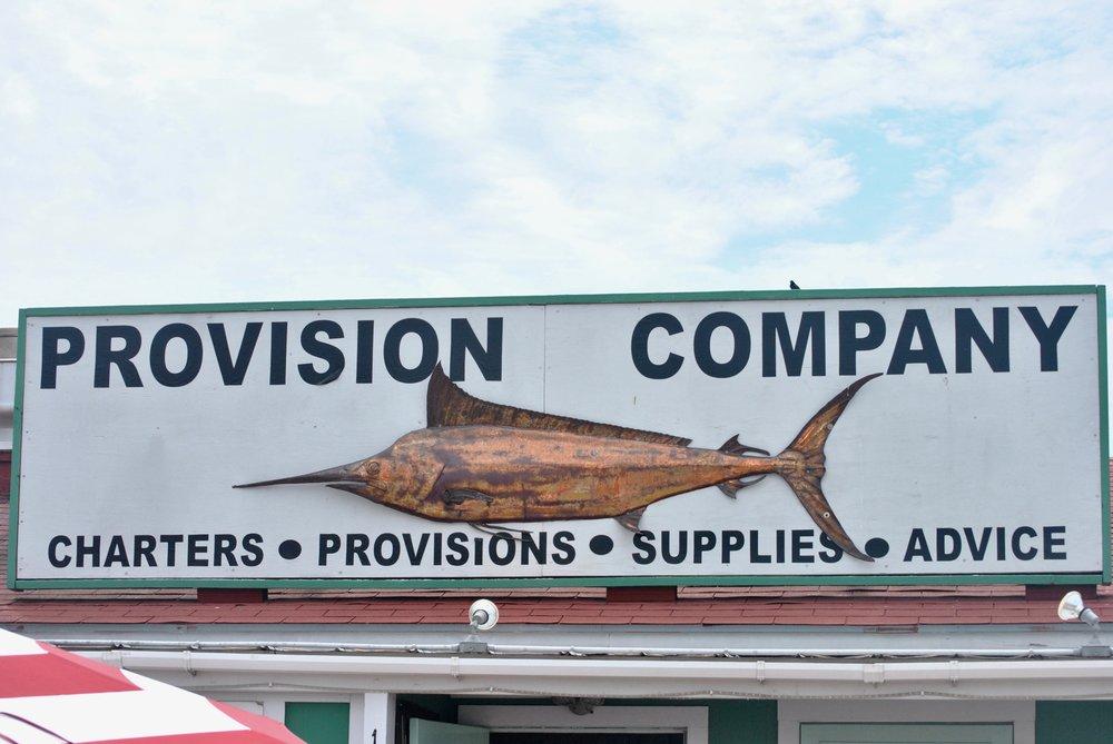Provision Company Southport NC