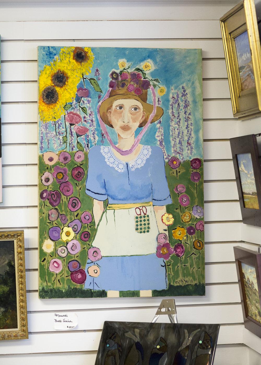 Barb Scalia Painting