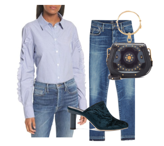 Fall Denim Outfit Idea