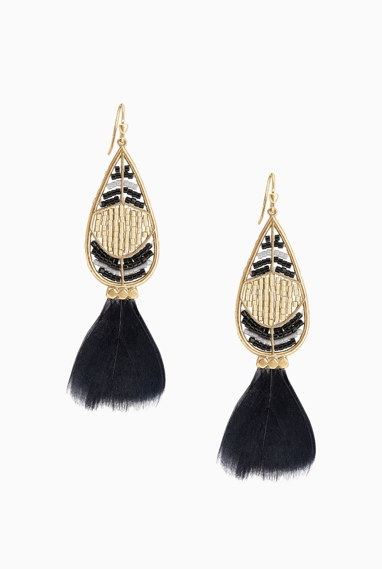 Wisten Feather Earrings - 49.00