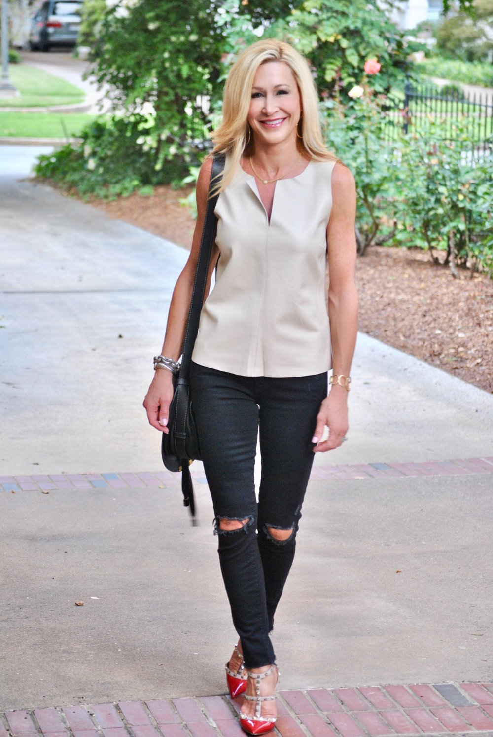 Transitional outfit for fall