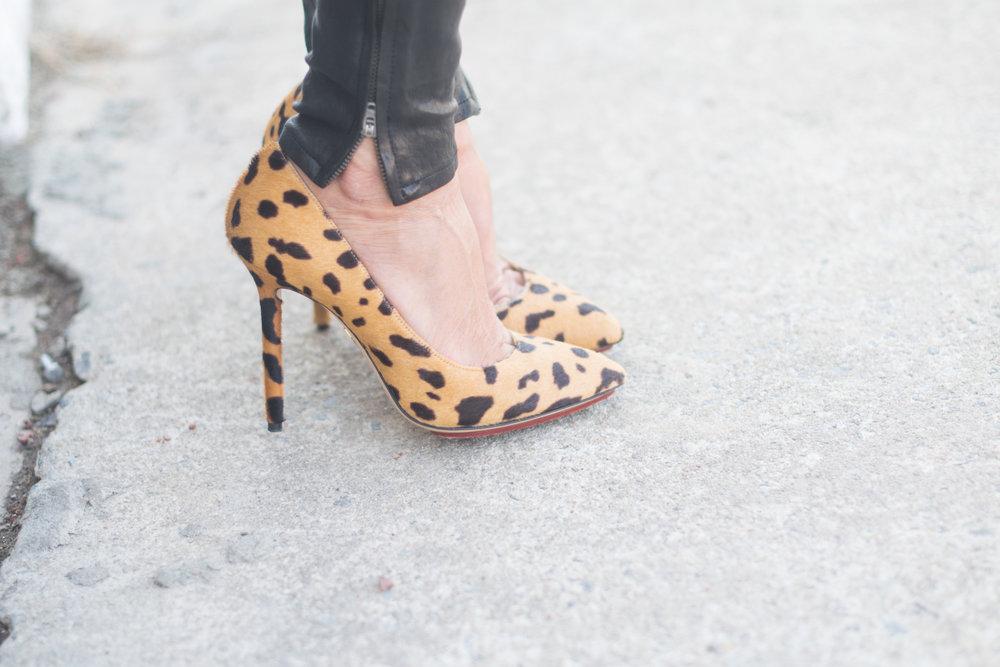 Charlotte Olympia Leopard pumps