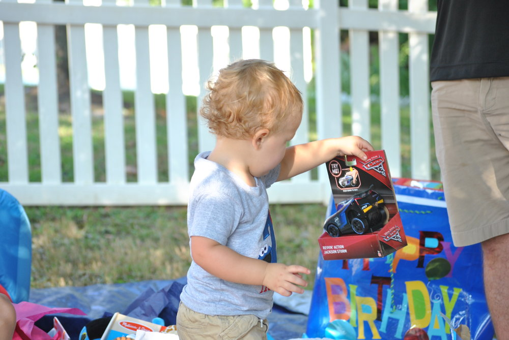 Hudson's 2nd Birthday Party