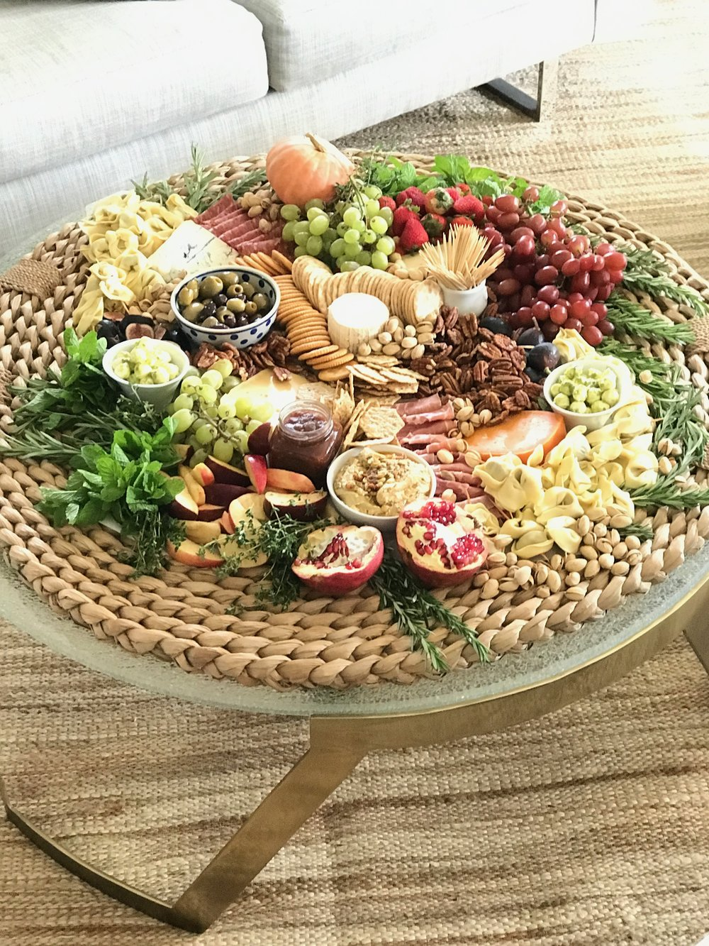 BySuzanne Catering Gourmet Grazing Tray
