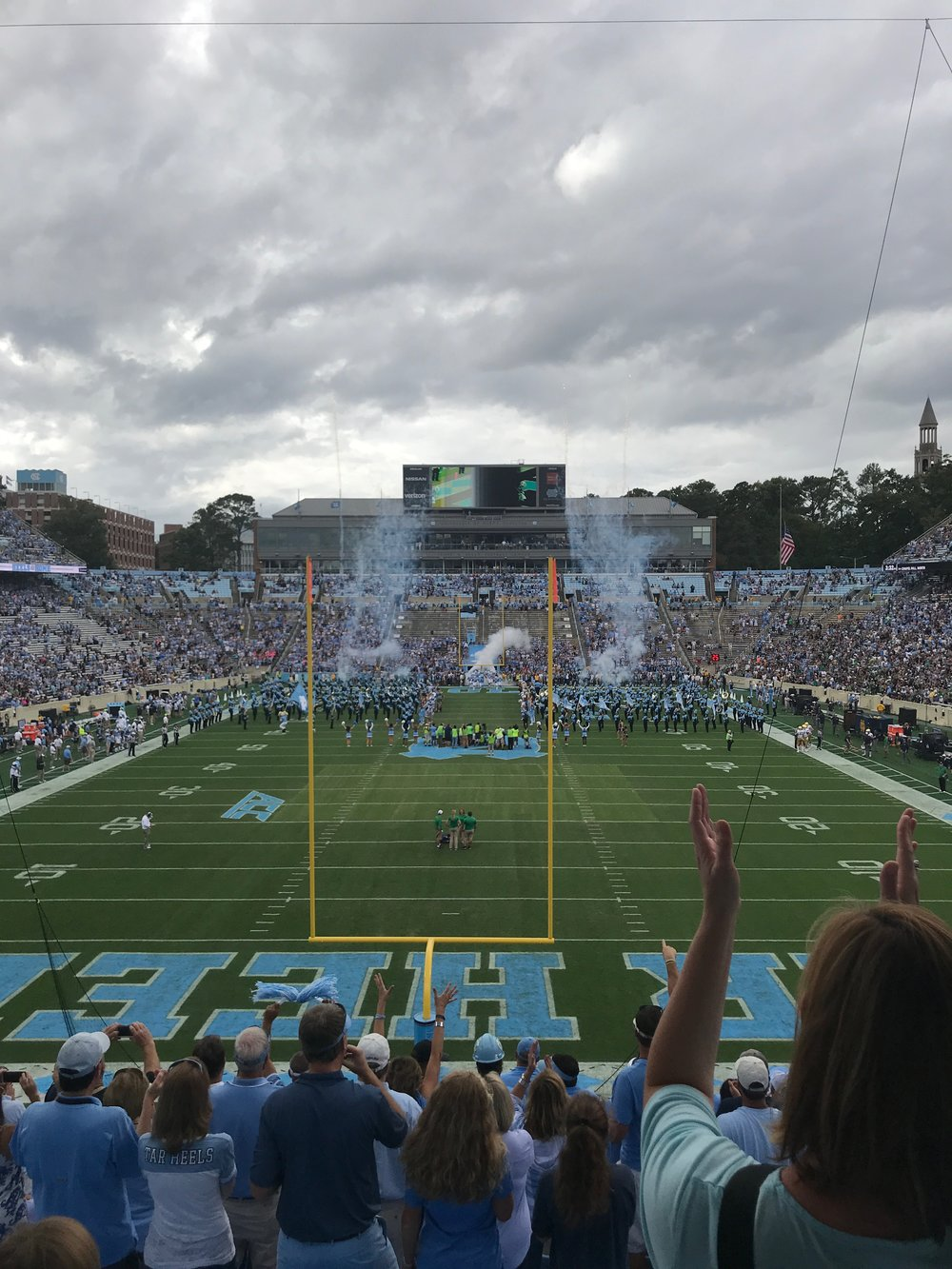 UNC football game
