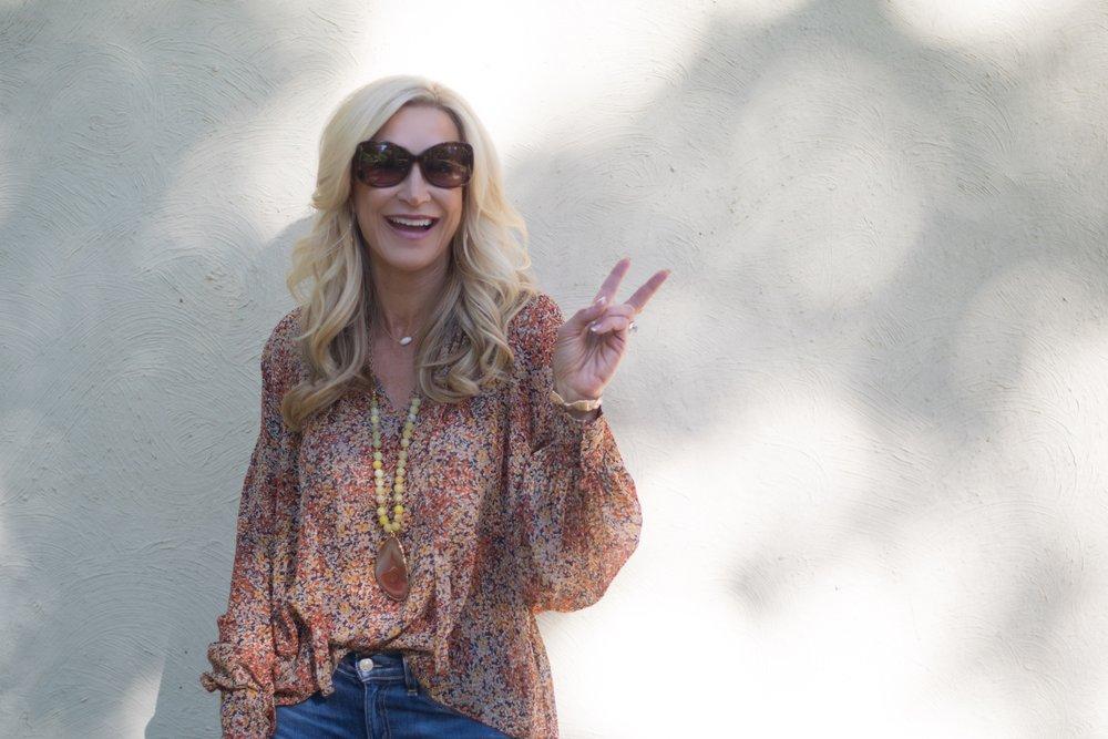 Crazy Blonde Life Fall Fashion