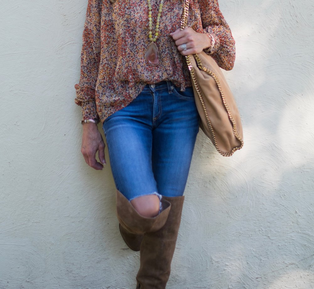 70's Boho Style with Crazy Blonde Life