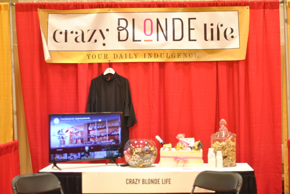 She Expo - Crazy Blonde Life Booth