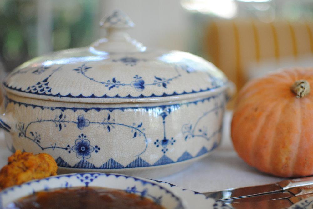Antique casserole