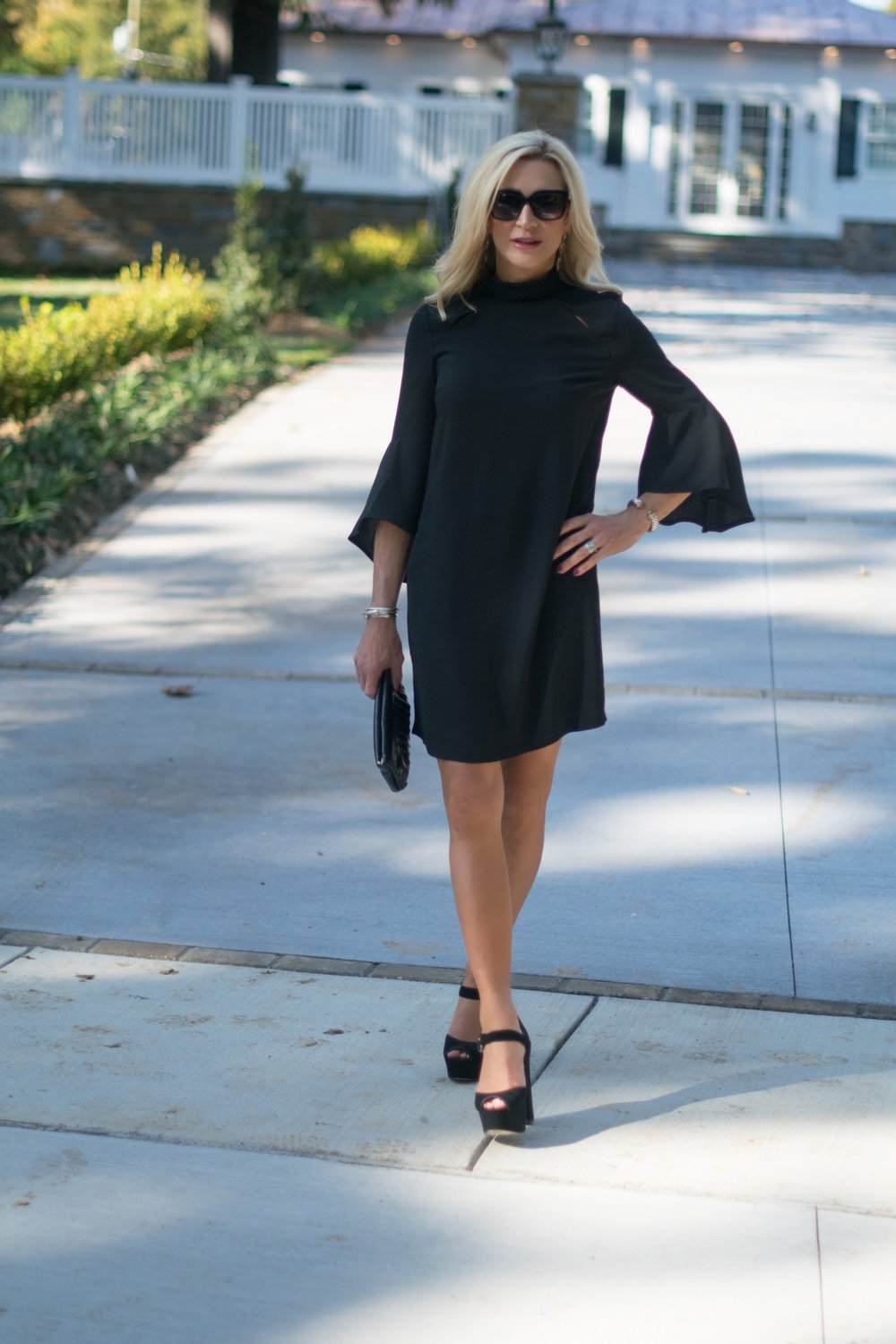 Anna Cate Collection Bell Sleeve Dress