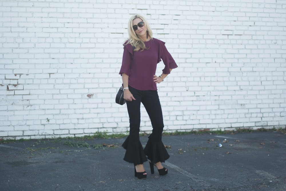 Fall Outfit Idea with Citizens of Humanity Jeans