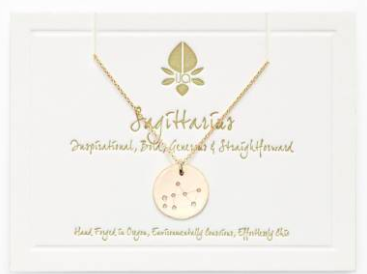 14-K Gold Zodiac Necklace - 98.00