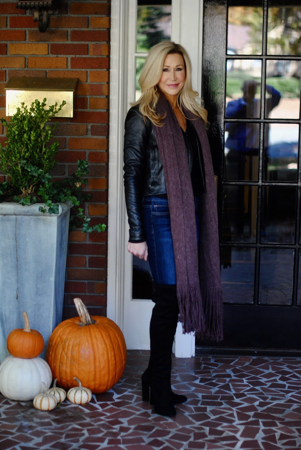 Tarsget over-the-knee boots