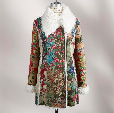 I absolutely love this coat from Sundance!  So festive! - Sundance - $238.40 with discount