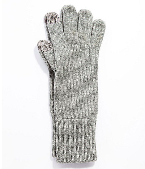 Cashmere Smart Gloves...you can text and still stay warm! - $39.00 at J. Jill