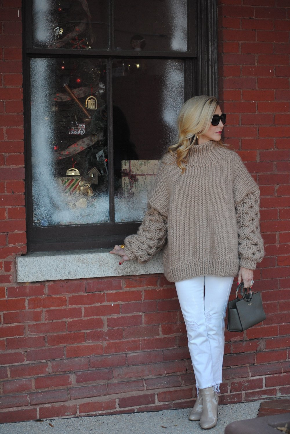 How to style an oversize turtleneck